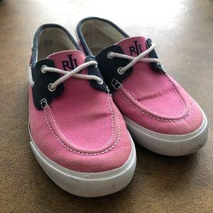 Lauren Ralph Lauren Breeana Canvas Boat Shoes